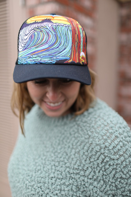 Sunday Afternoons Ocean Trucker Hat