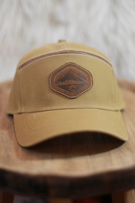 Sunday Afternoon Buckskin Field Cap
