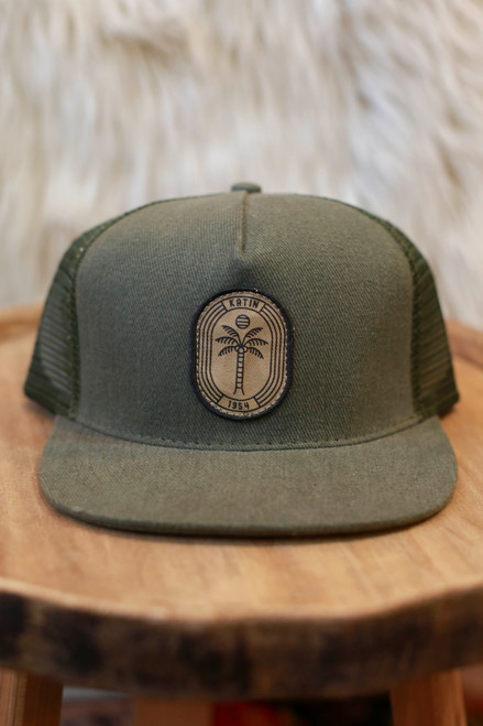 Katin Army Green Palm Nights Trucker Hat