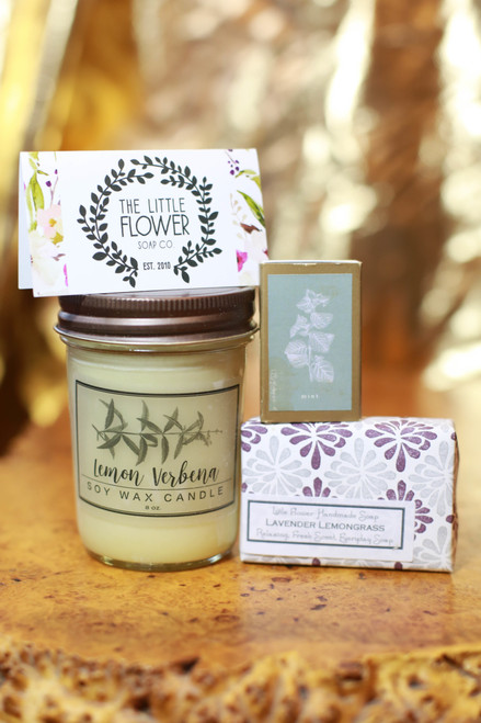 The Little Flower Soap Company Soap Gift Box