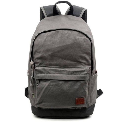 TSD Brand Gray Urban Light Backpack