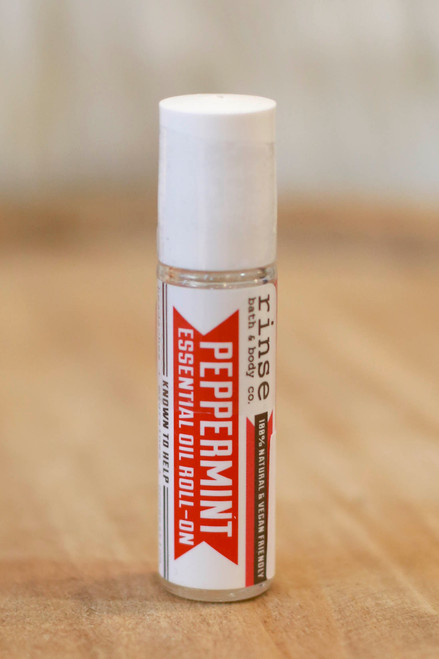 Rinse Roll-On Peppermint Essential Oil