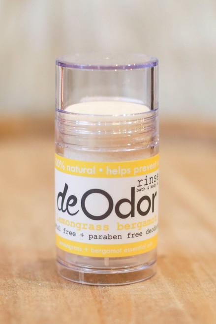 Rinse Lemongrass Bergamot DeOdor Stick