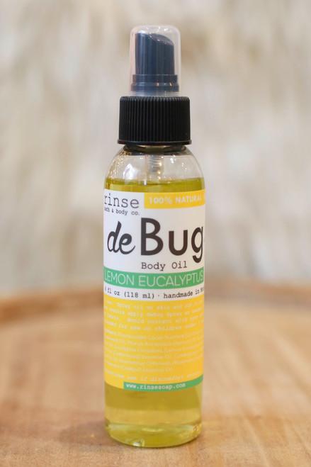 Rinse Lemon Eucalyptus DeBug Oil