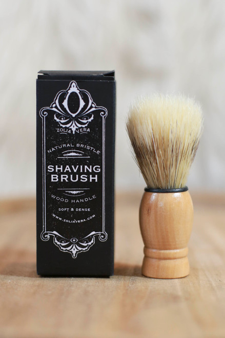 Zolia Vera Natural Bristle Shaving Brush