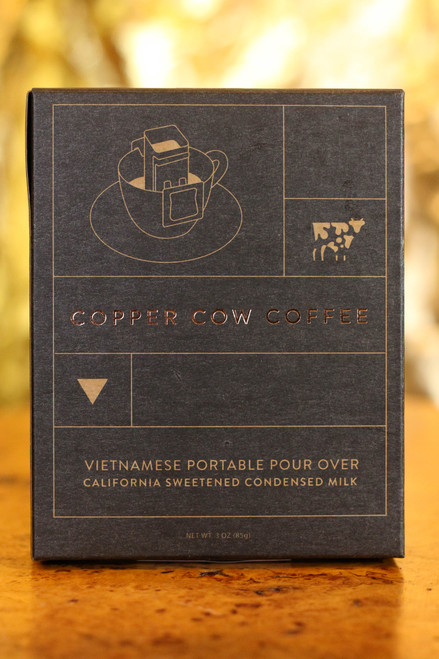 The Classic Cream Copper Cow Vietnamese Coffee Pour Over Coffee | 1-Pack