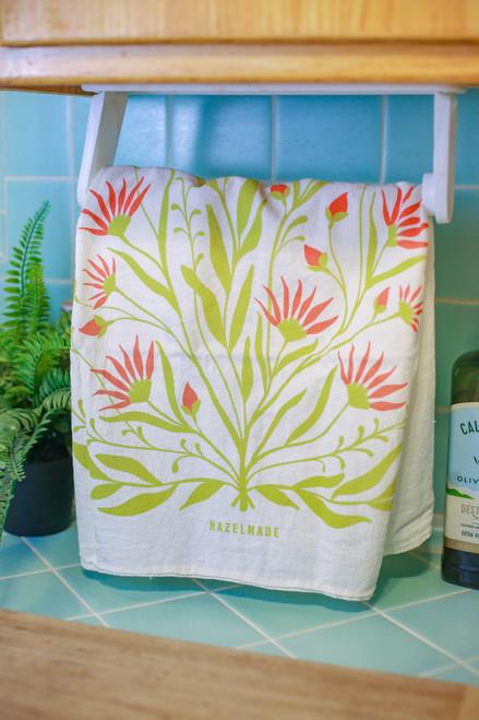 Bold Florals Tea Towel