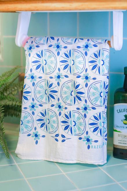 Scandinavian Pattern Tea Towel