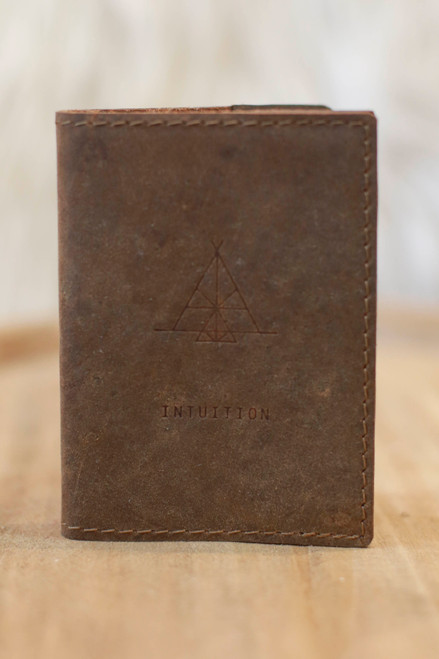 Soothi Intuition Leather Pocket Journal