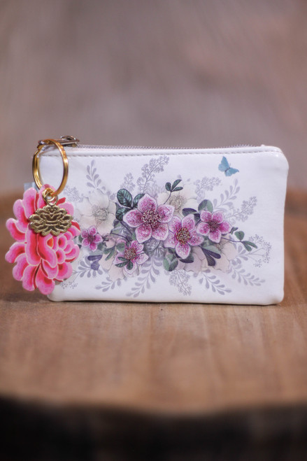 Papaya Hellebore Coin Purse