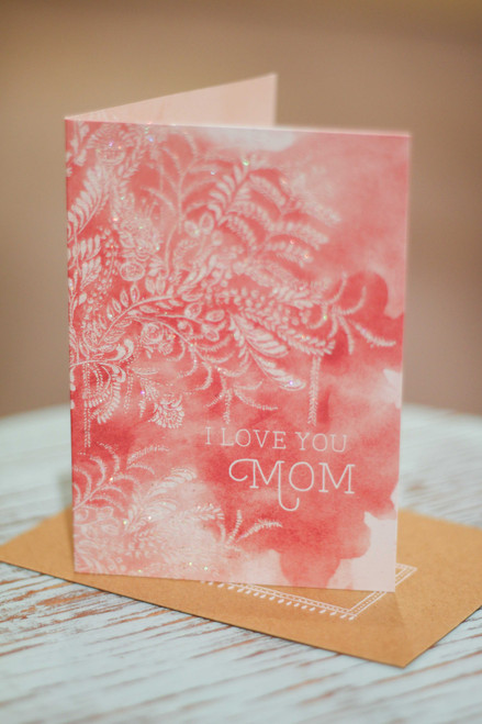 Papaya Mom Blush Mini Card
