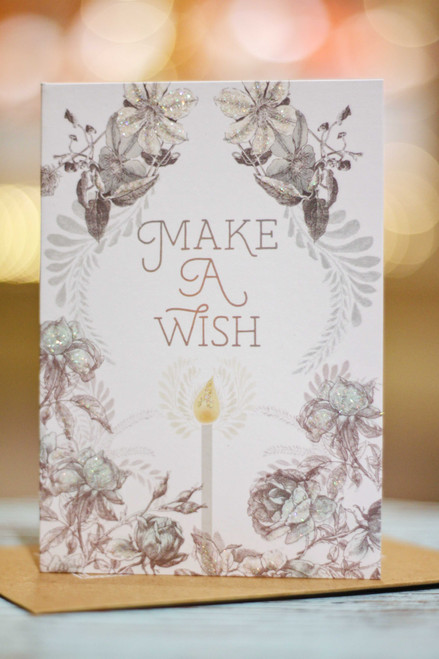 Papaya Make a Wish Mini Card