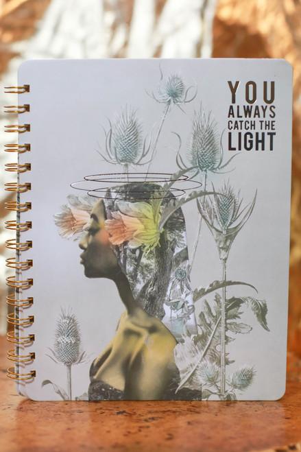 Papaya Universe Spiral Notebook