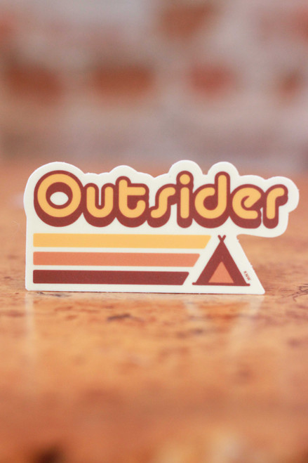 Outsider Sticker