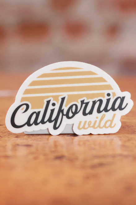California Wild Sticker