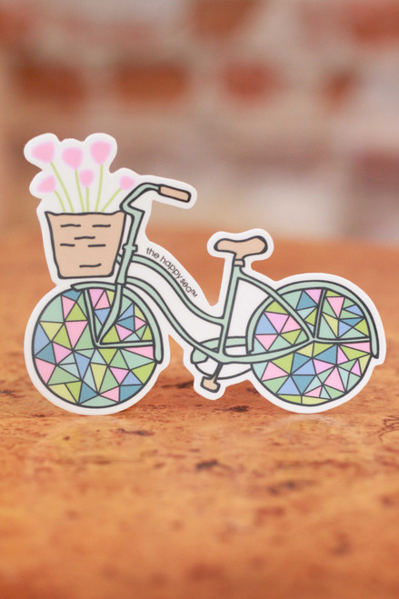 Geometric Bicycle Sticker