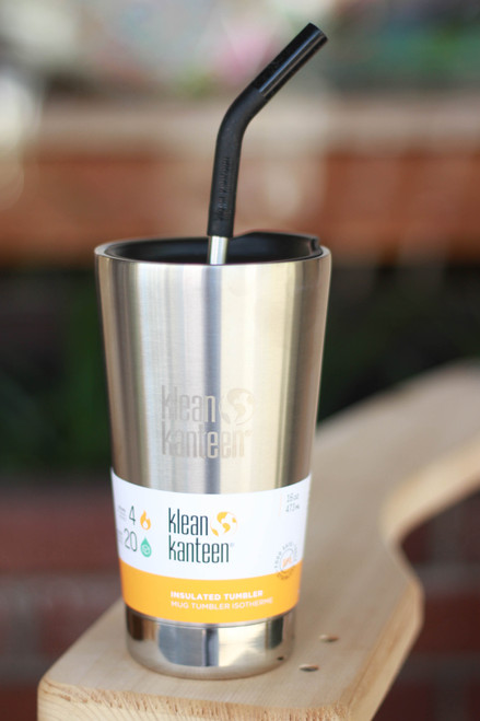 Klean Kanteen Insulated 20 oz. Tumbler in Brushed Stainless