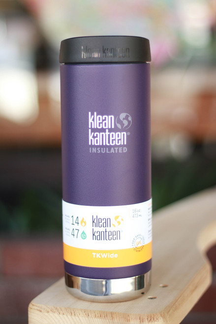Klean Kanteen Insulated TKWide 16 oz. Canteen in Grape Jelly