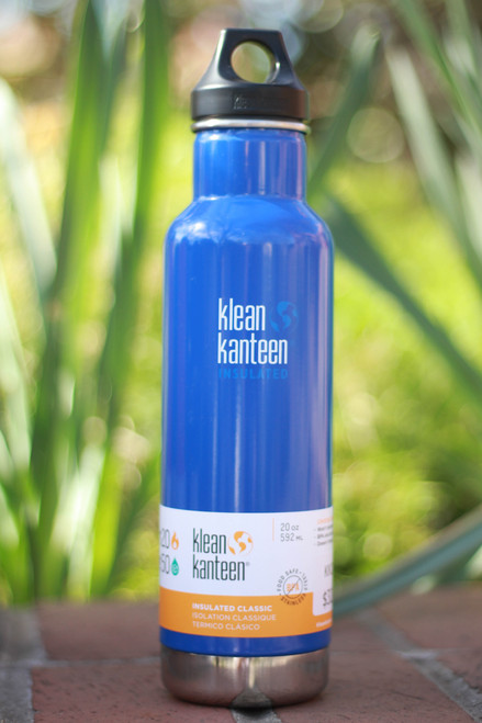 Klean Kanteen Insulated Classic 20 oz. Canteen in Coastal Waters