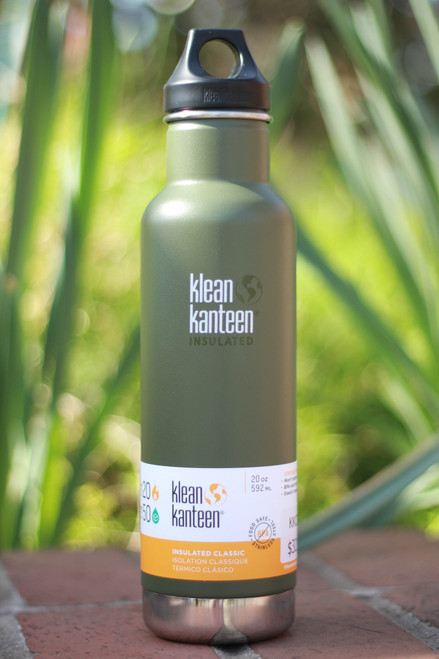 Klean Kanteen Insulated Classic 20 oz. Canteen in Fresh Pine