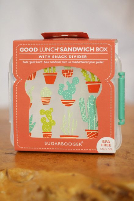 Sugarbooger Happy Cactus Good Lunch Sandwich Box