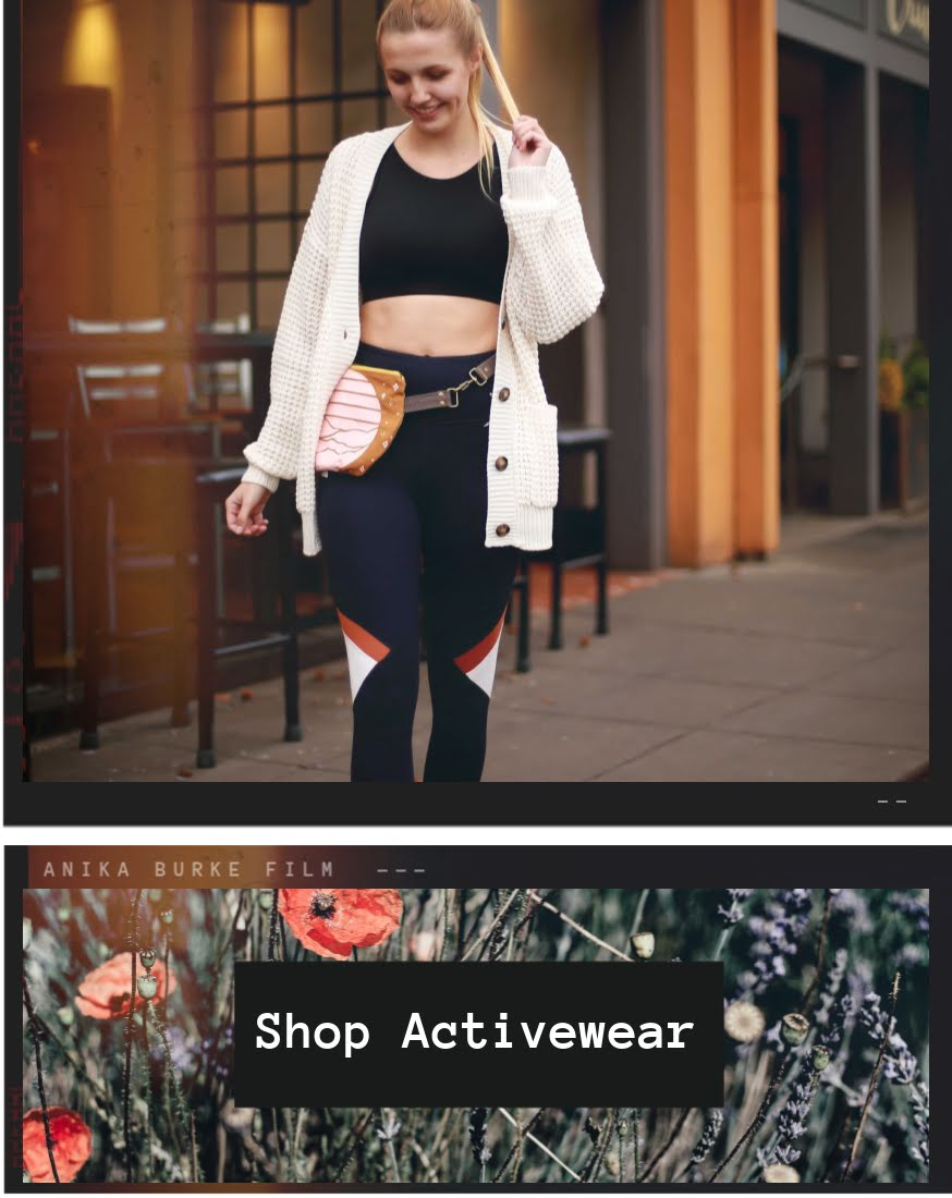 Girl wearing activewear