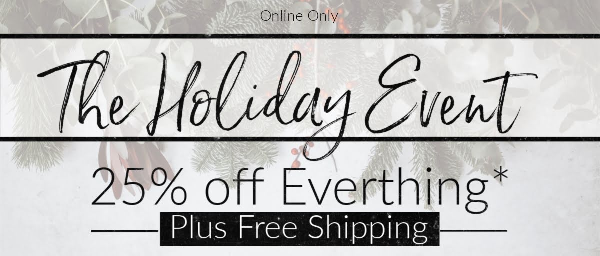Merry Christmas save 25% off Site Wide!