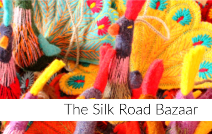 Silk Road Bazaar at Anika Burke