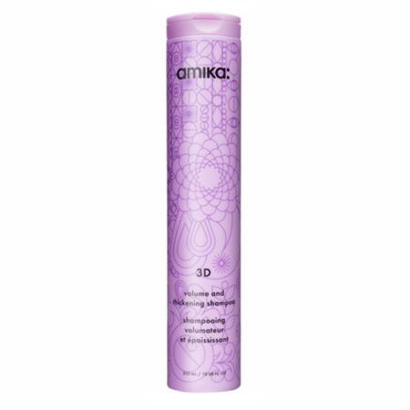 Amika 3D Volume & Thickening Shampoo - 10 oz