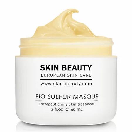 Skin Beauty Bio-Sulfur Mask   Acne + Pore Refining Treatment