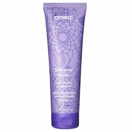 Amika Bust Your Brass Cool Blonde Conditioner - 8.45 oz