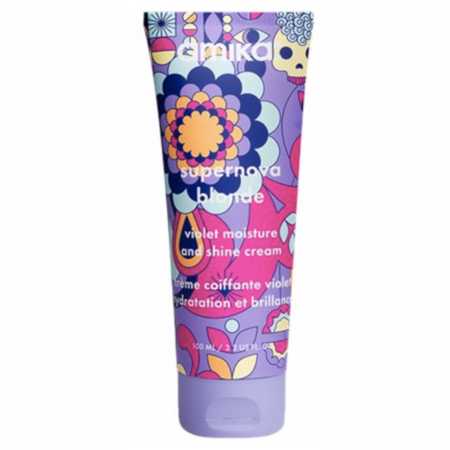 Amika Supernova Blonde Violet Moisture & Shine Cream - 3.3 oz