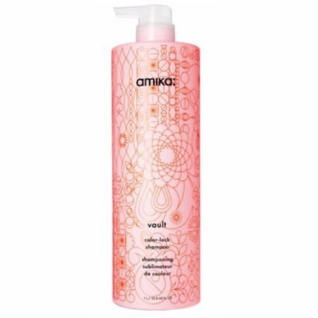 Amika Vault Color-lock Shampoo - Liter (02596)