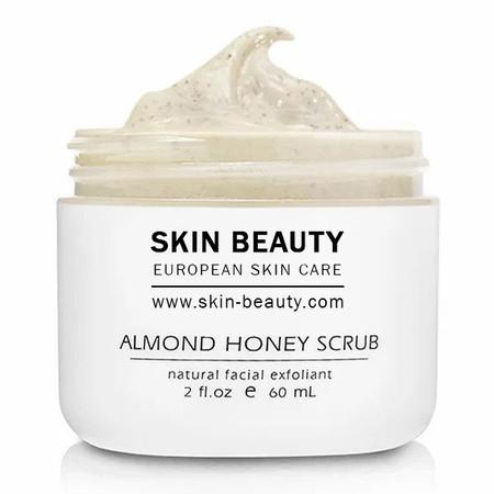 Skin Beauty Almond Honey Scrub | Natural Exfoliator For Face