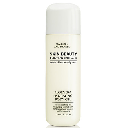 Skin Beauty Aloe Vera Hydrating Body Gel | Sunburn Treatment