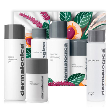 Dermalogica Cleanse + Glow To Go Travel Kit | Double Cleanse