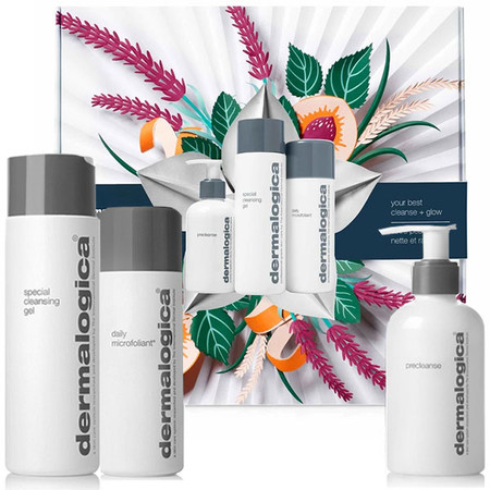 Dermalogica Your Best Cleanse And Glow Kit  - double cleanse
