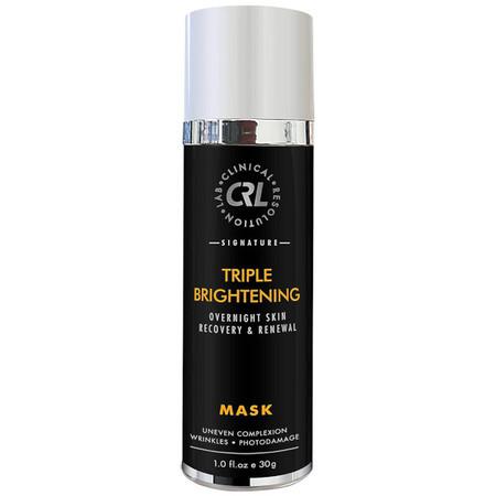 MTS Derma Roller CRL Triple Brightening Mask - Overnight Mask - 1 oz