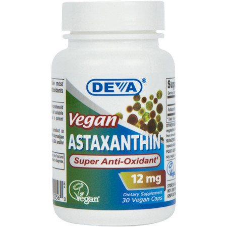 Deva Nutrition Vegan Astaxanthin 12 mg - 30 Caps