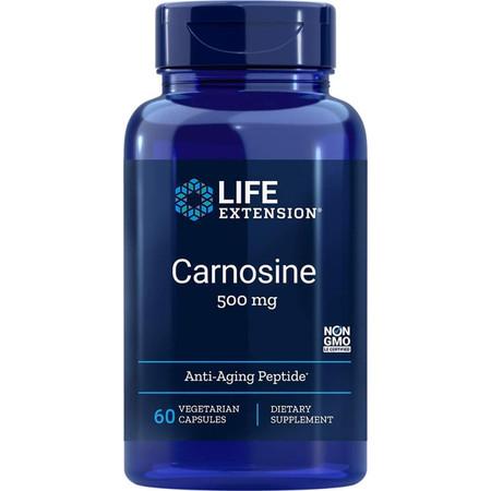 Life Extension Carnosine 500mg - 60 Capsules