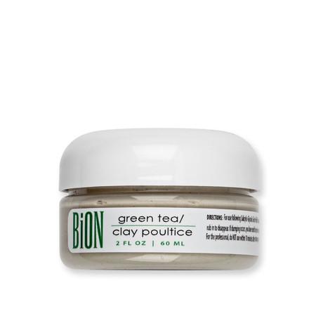 BiON Green Tea Clay Poultice - 2oz