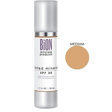 BiON Tinted Mineral SPF 35 Medium - 1.7 oz