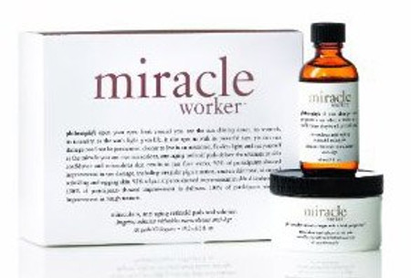 Philosophy Miracle Worker Miraculous Anti-Aging Retinoid Pads And Solution - 60 pads - 2 oz