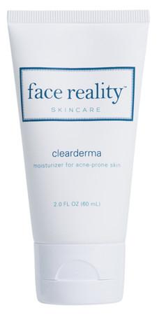Face Reality Clearderma Moisturizer - 2oz