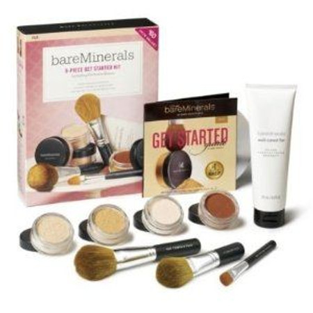 bareMinerals Get Started Complexion Kit Fair, 9 Pieces