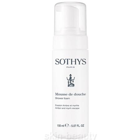 Sothys Shower Foam Amber and Myrrh Escape - 5.07 oz