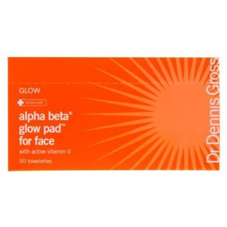 Dr. Dennis Gross Skincare Alpha Beta Glow Pad For Face - 50 Towelettes