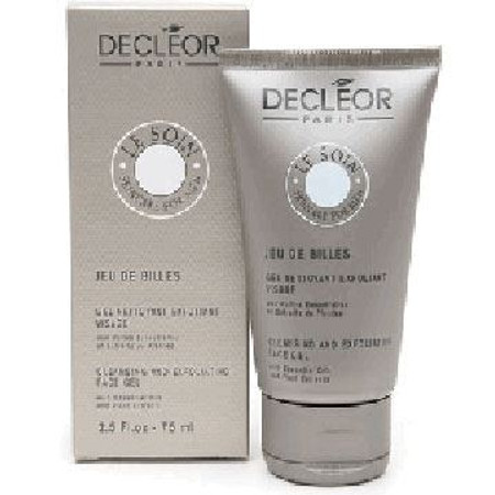Decleor Cleansing and Exfoliating Face Gel - Men, 2.5 oz (75 ml)