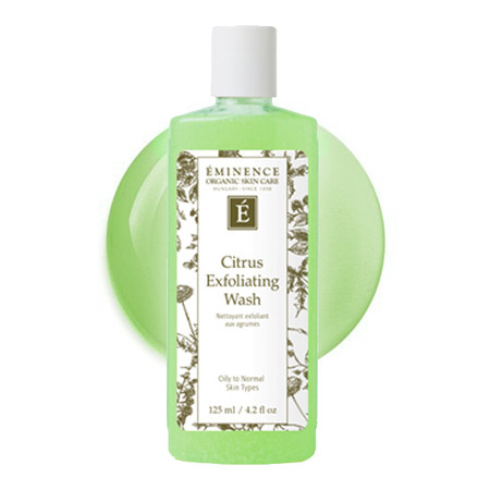 Eminence Citrus Exfoliating Wash, 4.2 oz