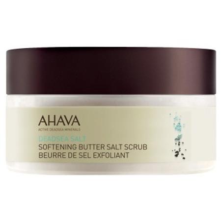 AHAVA DeadSea Salt Softening Butter Salt Scrub - 8.0 oz